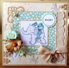 Baby Card - Handmade #Handmade