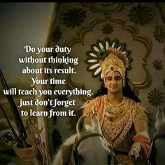 Krishna Quotes In Hindi, Hindu Quotes, Radha Krishna Love Quotes, Lord Krishna Images, Krishna Pictures, Mahabharata Quotes, Karma, Geeta Quotes, Mistake Quotes