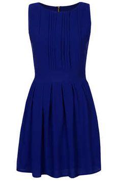 **Pleat Chiffon Dress by Wal G - Dresses  - Clothing