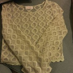 Top Cute top from Blush! In good condition. Picture of flaw. Tops