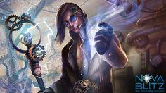 Cancel card art by Jackson Tjota for the Nova Blitz trading card game. Play the demo at NovaBlitz.com/demo!