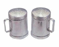 Stansport Lightweight Aluminum Camp Chef Size Salt & Pepper Shaker by Stansport. $10.93. Aluminum Salt & Pepper Shaker Made of lightweight aluminum. Camp chef size. Ideal for all your outdoor cooking.