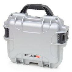 """Nanuk 905 Case with Padded Divider (Silver) by Nanuk. $64.00. From the Manufacturer                   DummyHTML           The NANUK advantage  Padlockable Waterproof Impact resistant NK-7 resin Soft grip foldable handle Powerclaw latching system                       NANUK Cases Nanuk durable cases offer the best solution for protecting your equipment. If you have sensitive instruments, photographic equipment or even """"not so delicate"""" items such as firearms, Nanuk p..."""