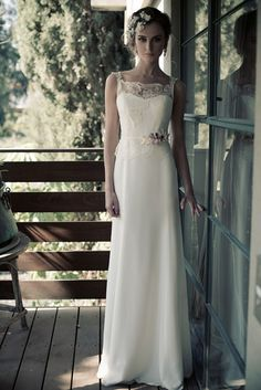Provence Bridal Collection by Erez Ovadia. Wedding dress. This collection from Erez Ovadia bridges the gap between soft and sweet, and full on sultry glamour in effortless fashion for a new concept for the traditional bride.