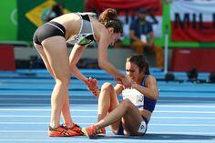 Quand Nikki Hamblin, de la Nouvelle-Zélande, a aidé Abbey D'Agostino à se lever…