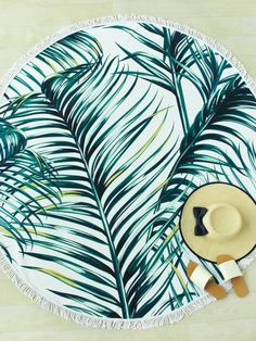 To find out about the Jungle Print Fringe Trim Round Beach Blanket at SHEIN, part of our latest Beach Accessories ready to shop online today! Bikini Bum, Jungle Print, Beaded Anklets, Beach Accessories, Beach Blanket, Geek Girls, Surf Girls, Fringe Trim, Beach Art