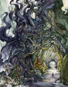 Atmospheric Illustration from Faryn Hughes  Faryn Hughes is an illustrator from Saint Paul, Minnesota who specializes in dreamy and ethereal watercolor works inspired by nature scenes, animal wildlife, fairy tales, and oriental designs. Most of her...