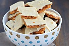 Peanut butter cracker toffee will be your new favorite sweet treat. It's so simple to make, and it's downright trouble too.