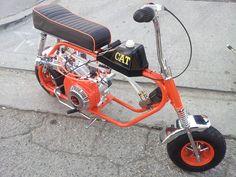 Mini bike Custom Go Karts, Build A Go Kart, Mini Motorbike, Small Motorcycles, Mini Chopper, Mini Monster, Pit Bike, Bike Art, Bicycle Accessories