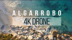Drone Videography, React App, Beach