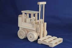 "Forklift with Pallet [ ""Thi 