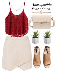 """""""Androphobia"""" by amilla-top ❤ liked on Polyvore featuring BCBGMAXAZRIA, H&M and Ice"""