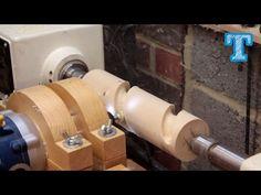 Homebuilt Router Copier Lathe - YouTube