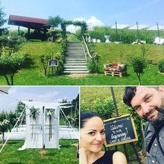 What a day  Die Weddingsaison hat nun auch bei mir gestartet! Awesome Team @derunmuthigefotograf  #weddingsaison2018 #weingutholler #spielberg #styria #awesomeplace #heirateninösterreich #hochzeit #lovemyjob