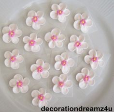 $5.95.. They have pre-made icing flowers all over etsy, if you wanted to decorate a lingerie cake w flowers.