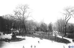 Park Kościuszki. Pomnik