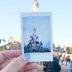 Polaroids in Disney