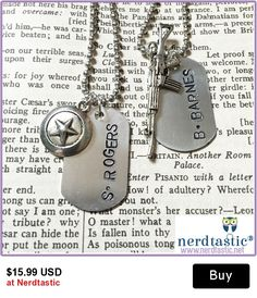 Captain America & Winter Soldier Dog Tags