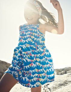 I've spotted this @BodenClothing Tulip Dress Riviera Blue Bunting