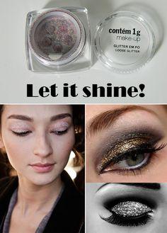 Eye makeup. Simple to dramatic