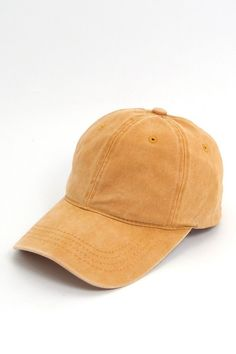 Distressed Dad Cap - Mustard Dad Caps ceef4fbca138