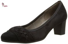 Gabor Shoes Gabor Basic, Escarpins Femme, Noir (17 Schwarz), 35.5 EU