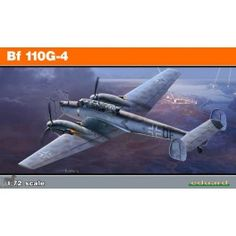 Maquette 1/72 - Bf 110G-4 ProfiPACK - EDUARD