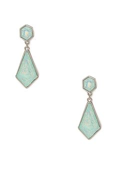JCF Iridescent Bejeweled Drop EarringsBuy fashion jewellery online