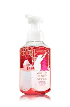 Winter Candy Apple Gentle Foaming Hand Soap - An irresistible treat of red apple, rose petals & candied orange