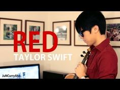 This is me playing a violin cover of Taylor Swifts RED!! :D Hope you enjoy!!  Make sure to subscribe for more videos! And feel free to share! :D That would be great!  ==================================================  Official Site: http://www.juncurryahn.com   My Links! http://twitter.com/JunCurryAhn http://www.facebook.com/JuNCurryAhn http:/...