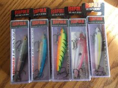 Sports Mem, Cards & Fan Shop Auction 0039 Rapala Husky Jerk Hj08 Bass Fishing Available In Various Designs And Specifications For Your Selection