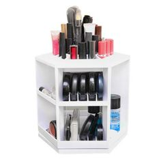 Organizador de Maquiagem Giratório  R$ 350