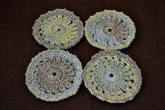 DecoSet 1 or #coasters #crochet #handmade #homedeco