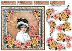 Elegant Rose on Craftsuprint - Add To Basket!