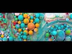 Abstract Mix of Paint, Oil, Milk & Soap by Thomas Blanchard - YouTube