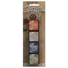 Mini distress pad kit #5