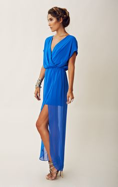 Rory Beca Plaza Overlap Gown
