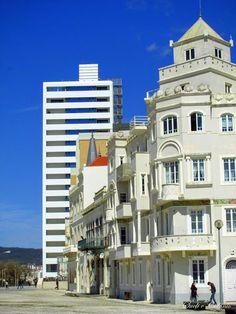 A arquitectura moderna e antiga na Figueira da Foz