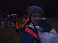 Camping with an infant
