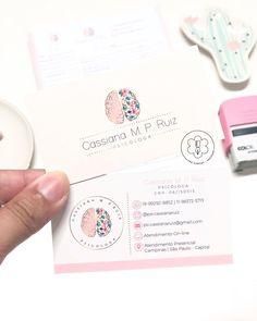 Unique Business Cards, Business Card Design, Flamingo Logo, Doctors Office Decor, Brain Logo, Name Card Design, Presentation Cards, Bussiness Card, Wedding Card Templates