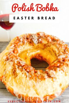 Polish Bobka Easter Bread Do you want to make homemade Easter bread? Polish Bobka Easter Bread is an International Easter bread recipe. This Polish sweet bread is an easy recipe that you can make at home. You will love this Easter sweet bread recipe. Easter Bread Recipe, Easter Recipes, Holiday Recipes, Dessert Recipes, Recipes Dinner, Easter Food, Easter Dinner, Easter Treats, Holiday Foods