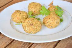 Bolinhas de Tofu e Azeitonas (Tofu and Olives Balls)