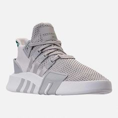 reputable site 47ade b2164 adidas Mens Originals Eqt Knit Og Basketball Sneakers from Finish Line -  Gray 13