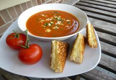 Amerikai paradicsomleves Gazpacho, Salsa, Curry, Ethnic Recipes, Soups, Food, Curries, Essen, Soup