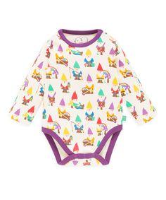 Little Bird Gnobe Printed Bodysuit