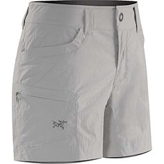 Arcteryx Parapet Short  Womens Frost 12 >>> Click on the image for additional details.