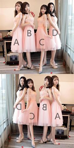 Discount Magnificent Custom Made Bridesmaid Dresses Mismatched Peach Lace Short Bridesmaid Dresses, Cheap Custom Long Bridesmaid Dresses, Affordable Bridesmaid Gowns, Orange Homecoming Dresses, Short Lace Bridesmaid Dresses, Navy Blue Prom Dresses, Mismatched Bridesmaid Dresses, Wedding Bridesmaids, Wedding Dresses, Dresses For Teens, Girls Dresses, Flower Girl Dresses