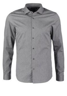 SLIM FIT - Koszula biznesowa - ash melange