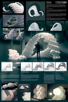 fab Winners were recently announced to the TEX-FAB REPEAT Digital Fabrication Competition. 73 entries from across the globe competed for the First Prize, representing 18 countries on 5 continents Parametric Architecture, Study Architecture, Pavilion Architecture, Parametric Design, School Architecture, Architecture Diagrams, Architecture Portfolio, Architecture Geometric, Sustainable Architecture