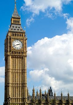 Big Ben! (Though it's actually the Bell that's named that not the clock or the tower.)